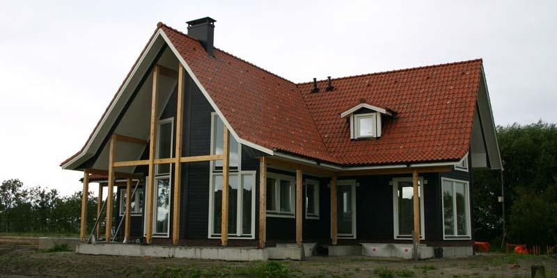 Zweeds houten huis bouwen