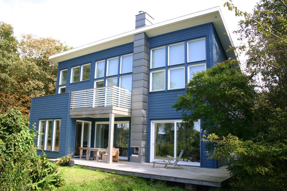 Zweedshome kavels for Architecten moderne stijl