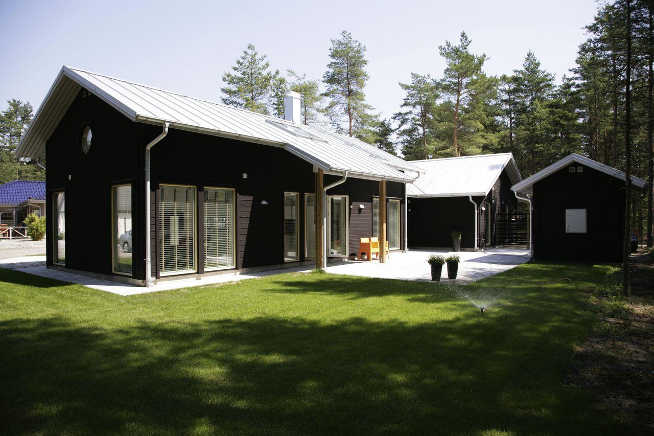 Zweedshome kavels - Foto moderne inbouwkeuken ...
